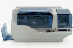 Сублимационный принтер печати пластиковых карт Zebra P330i